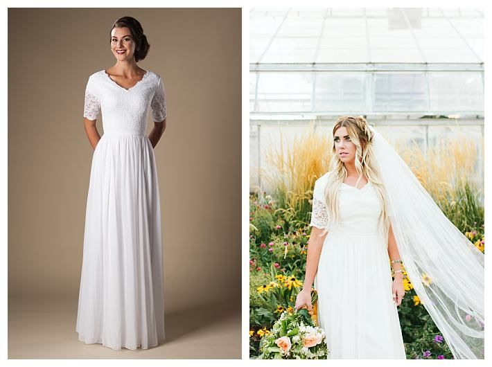 Lds Wedding Dress Stores In Utah : Images about modest lace wedding dresses on