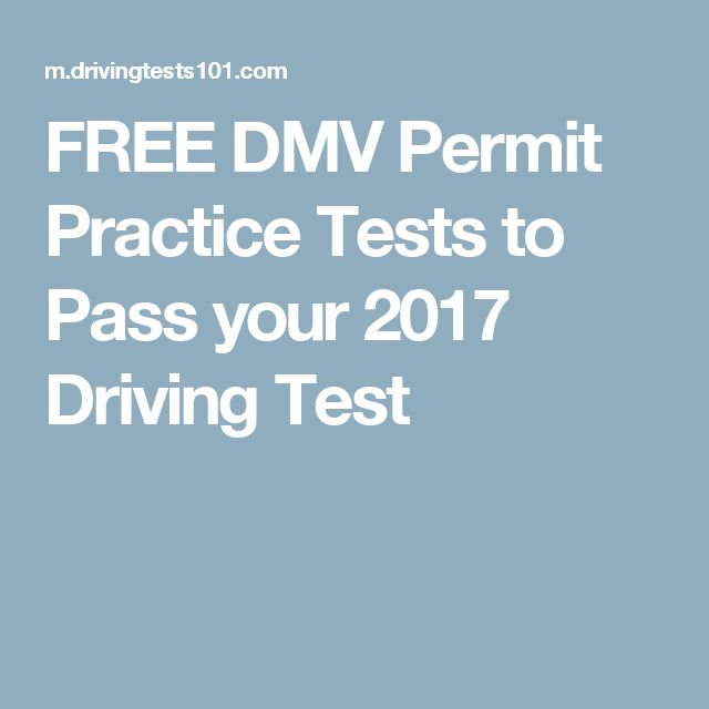 FREE DMV Permit Practice Tests to Pass your 2017  Driving Test