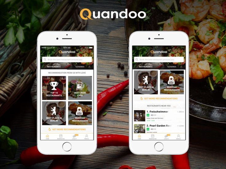 Quandoo  The easiest way to find a table by Ivo Dimitrov