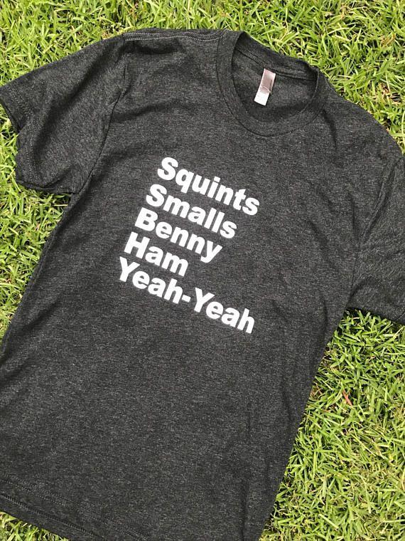 The Sandlot cast tshirt