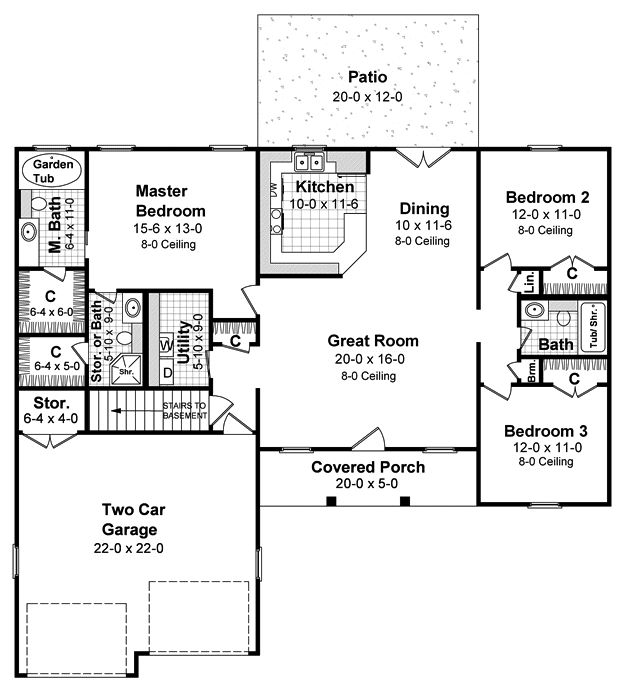236 best Small floor plans under 1500 sqft images – How To Find Your Homes Floor Plan
