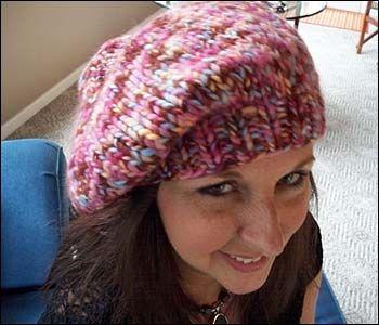 Free Beret Knitting Pattern 4 Ply : Berets, Patterns and Knitting patterns on Pinterest