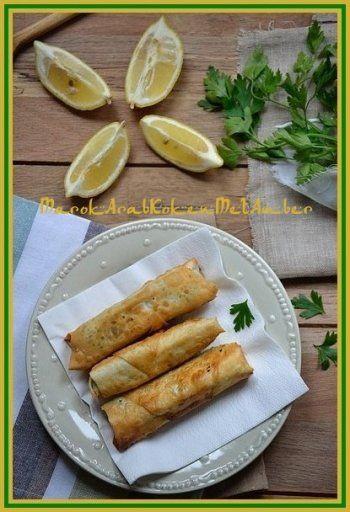 Wat is het toch heerlijk dat je met briouats alle kanten op kunt hieronder vinden jullie een briouats-recept met gerookte zalm en spinazie, dit keer met gebruik van Turkse YUF