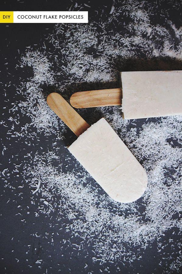 The Kipi Blog: DIY    #24    Homemade Creamy Coconut Popsicles