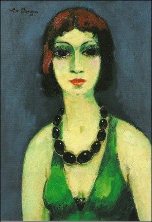 Marie Laurencin by Kees van Dongen Found on laflaneuse8.tumblr.com