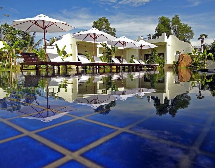 Navutu Dreams Resort & Spa is a family-owned boutique establishment a short drive from Siem Reap, Cambodia.