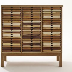 we could find an interesting piece like this for the art wall in the hallway - or not if it is too funky.     modern filing cabinets and carts by Sixay Furniture