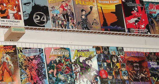 National Comic Book Day Sept 25 - A day for good triumphing over evil, and for saving the damsel in distress, Comic Book Day is all about enjoying a good comic.