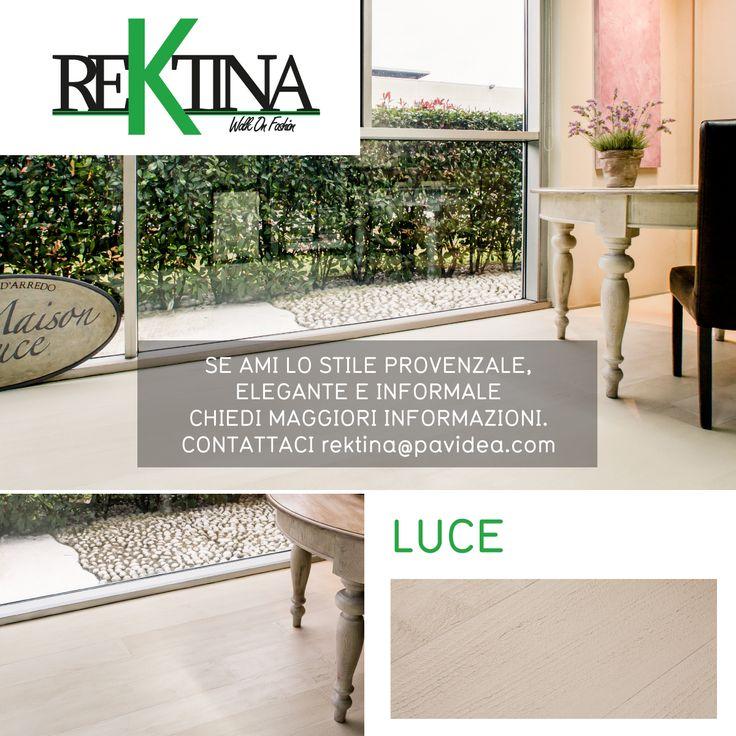 Con Luce puoi avere spazi luminosi ma al contempo calore e eleganza. #Rektina è la novità 2015 SCOPRILA CLICCA!! #parquet #resina #interiordesign #interiorideas
