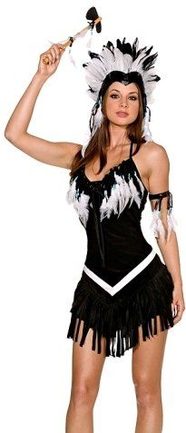 Native American Pin Up Girls   ... Native American Pocahontas Princess Girl Costume Theme Party Outfit
