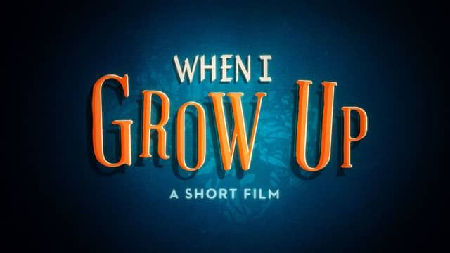 When I Grow Up Video, cute introduction to CDA lessons