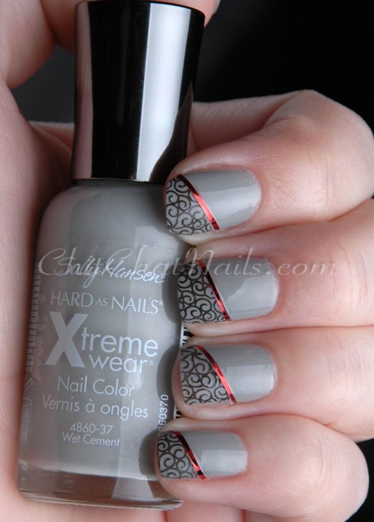 ChitChatNails Born Pretty Store Striping Tape Review #nail art manicure #nails