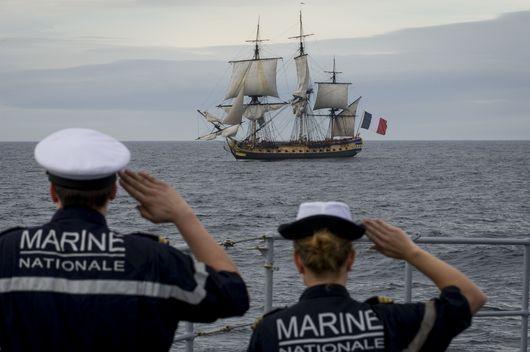 la Marine nationale française