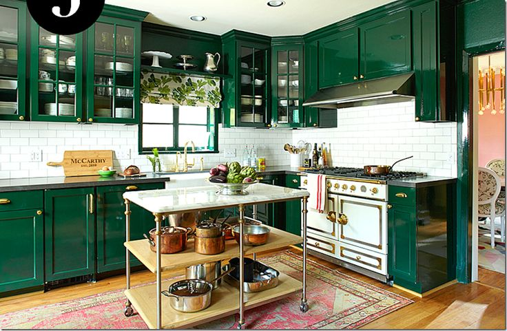Scenic Green And Blue Vintage Kitchen Cabinet Storage Also: 158 Best Images About Green-Blue-Mint-Turq Kitchen Ideas