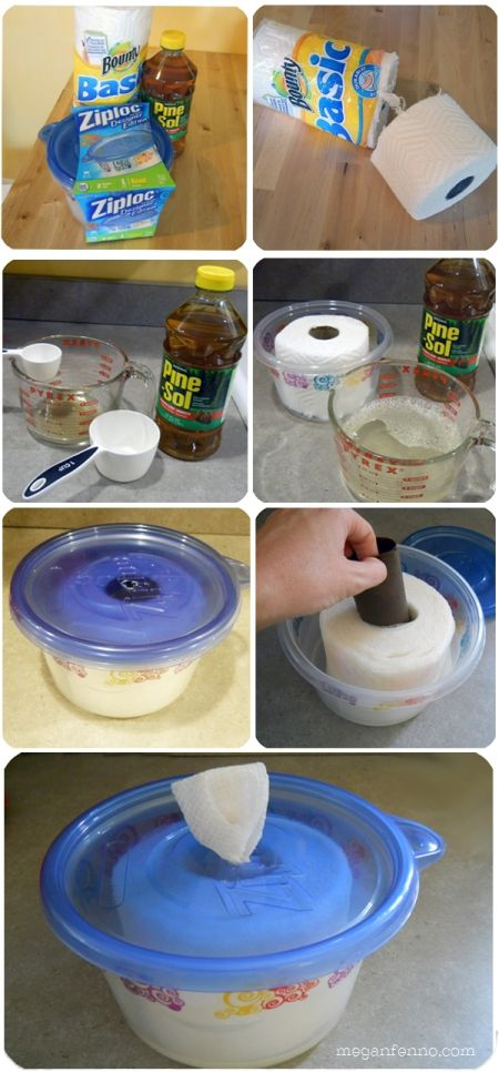 How to Make Your Own Disinfecting Wipes