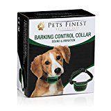 #5: Anti Bark Dog Collar by Pets Finest  Sound & Vibration Anti Bark Dog Collar
