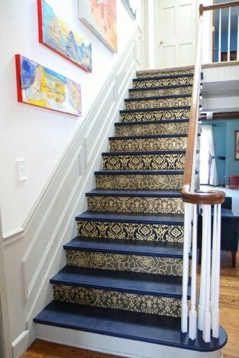 1000 Ideas About Wallpaper Stairs On Pinterest