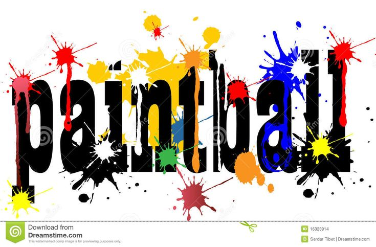 paintball splat clipart - Google Search | Paintball Party ...