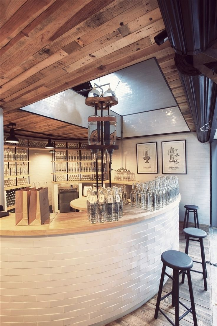 Casa Del Agua Store By Hctor Esrawe Puebla 11 Mexico City Love The Mix Of Salvaged Wood And White
