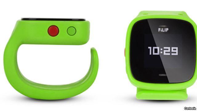 Filip es, según sus diseñadores, el primer teléfono localizador. Una herramienta eficaz para conocer la ubicación de nuestros hijos.