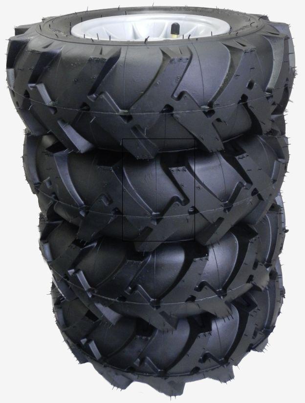 TEKNISKE SPESIFIKASJONER: ●  Tre tilgjengelige dimensjoner utifra traktortype - du velger i menyen over:●  4 x 310x95 (for FarmTrack Classic og RollyTruck, f.eks. John Deere 6920, NH TD 5050, MB1500 og Unimog)●  2 x 95x260 + 2 x 325x110 (for RollyJunior og FarmTrack, f.eks. John Deere 6210R, MF8650 og Case Puma)●  2 x 95x310 + 2 x 325x110 (for FarmTrack Premium, f.eks.John Deere 7930, Claas Arion og Deutz Agrotron )●  Luftfyldt gummihjul med bilventiler, slange og felg● …