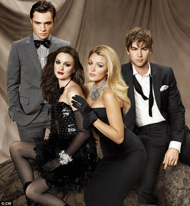 one of my favorite guilty pleasures ... Gossip Girl - love to watch it with my girl :)