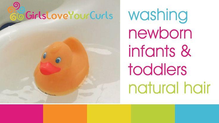 Baby Natural Hair Care: Washing & moisturizing