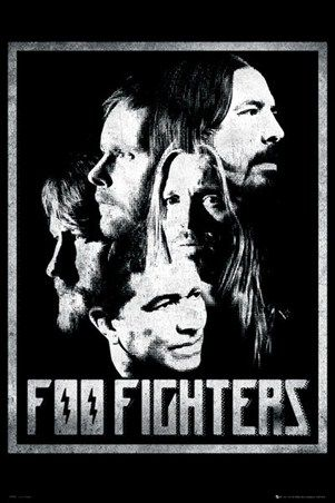"FOO FIGHTERS POSTER ""WASTING LIGHT"""