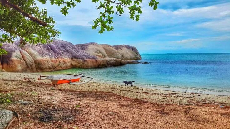 Batu bulong belitong island