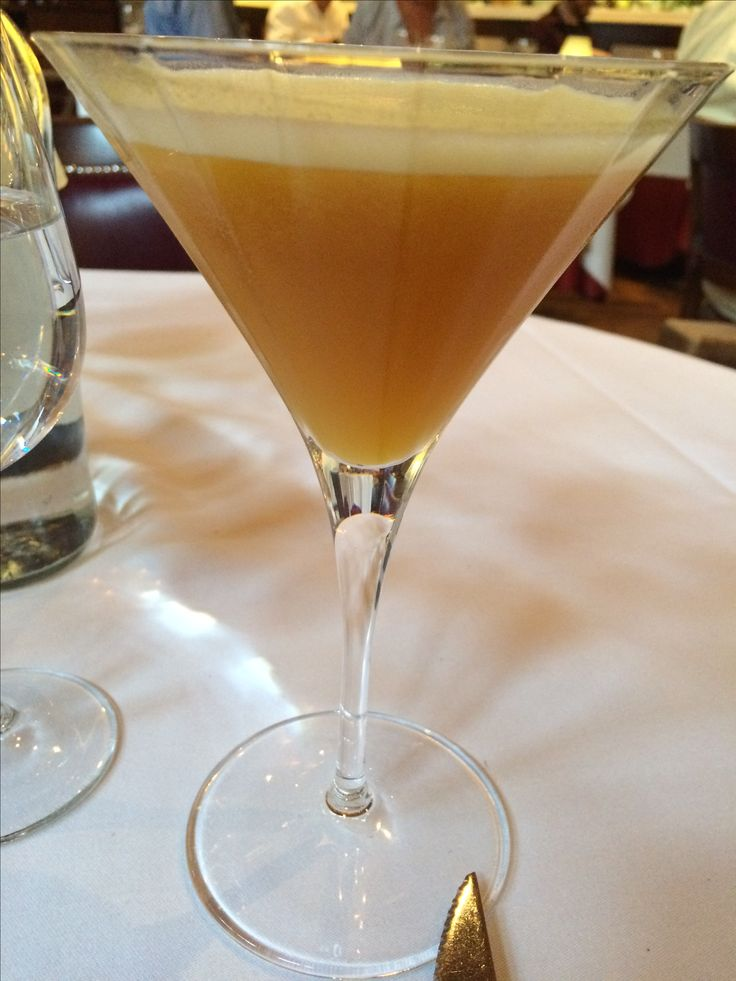 Tasty drink at the London Steakhouse