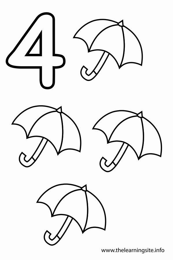 Number 4 Coloring Pages Awesome Sgblogosfera Mara Jose Argueso Del 1 Al 20 Numbers Preschool Preschool Coloring Pages Coloring Pages Inspirational