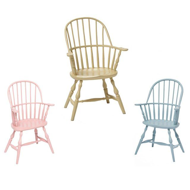 Childu0027s Sack Back Windsor Chairs By Chicone Cabinetmakers, From $875 For  Information: Taigan