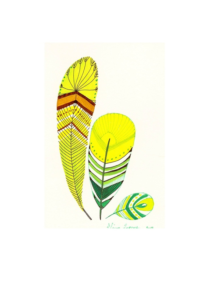 12 best beautiful feathers images on pinterest for Neon yellow wall paint