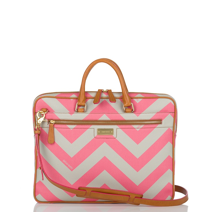 Laptop bag: Laptop Bags, Laptops Bags, Laptop Cases, Laptops Cases, Chevron Laptops, Pink Chevron, Brahmin Laptops, Chevron Stripes, While