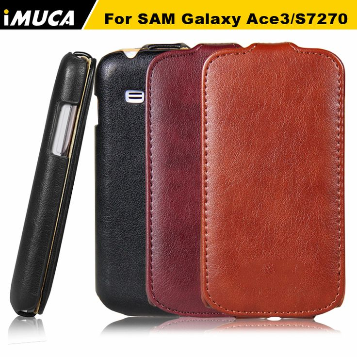 iMUCA Brand luxury for samsung galaxy ace 3 case Mobile Phone Case  PU Leather Flip for Samsung Galaxy Ace 3 S7270 Case cover