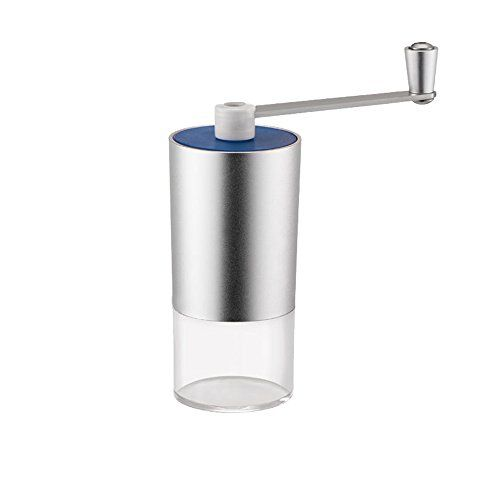ufengke Manual Coffee Grinder Hand Crank Aluminum And Acrylic Espresso Grinder Conical Burr Mill For Precision Brewing >>> Click image to read more details. #CoffeeGrinders
