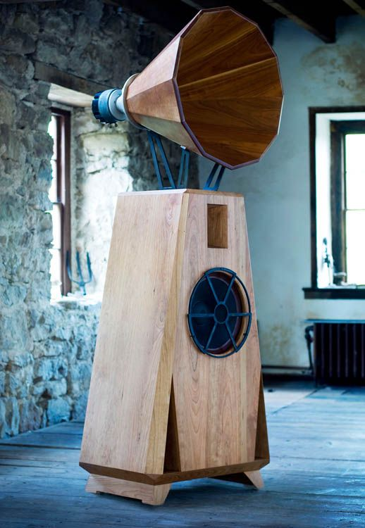 AC1 speakers in cherry with an oil and wax finish from Oswalds Mill Audio.   Is this one of those things where if I have to ask how much it is, I can't afford it?