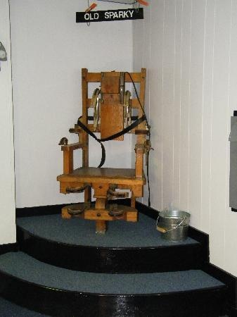 Sparky... the electric chair from the WV Penetentary in Moundsville...now closed but provides great tours  (especially around Halloween featured on TV as one of Americas'' most haunted places)