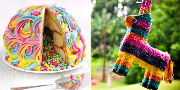 Pinata Cake Asda Food Pinterest Pinata Cake Chang E