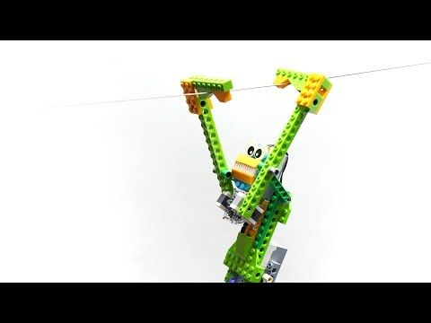 WeDo Monkey : LEGO WeDo - YouTube