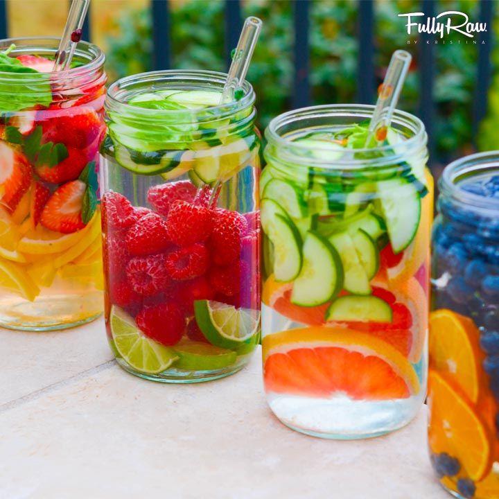 Ideas de aguas saludables para evitar las bebidas. ¡Muy saludable! :) #estudiantes #umayor #saludable