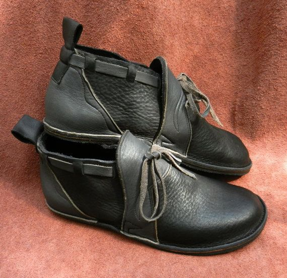 Handmade black Leather  Shoes   NO SHOES Lightweight por thoseshoes, $160.00
