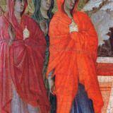 The Three Marys at the Tomb(Fragment) by Duccio di Buoninsegna