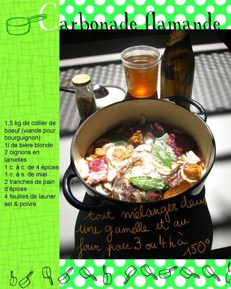 Tambouille» Carbonade flamande