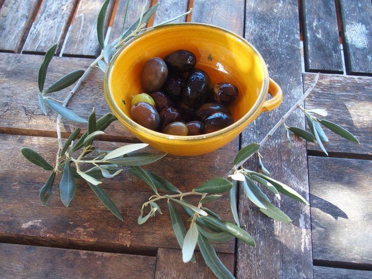 recette olives vertes provence
