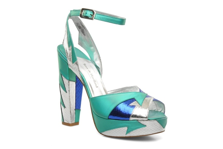 Superbride's shoes ! Pour un mariage fantastique, on adopte les chaussures de superwoman TERRY DE HAVILLAND - Zia