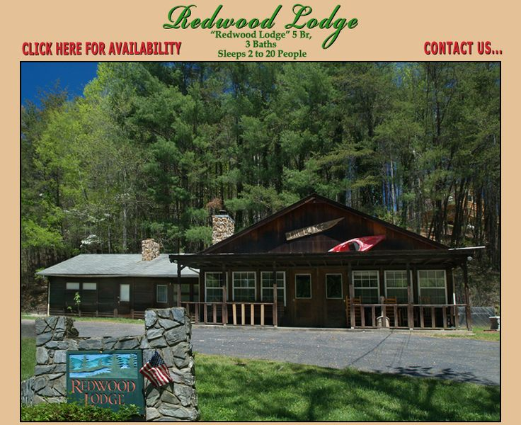 Redwood Lodge Hidden Creek Cabins Sleeps 2 14 Located