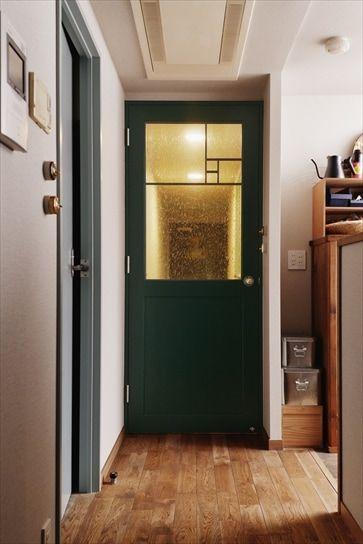リフォーム リノベーションの事例 ドア 施工事例no 550コンクリートに手仕事の彩りを添えて スタイル工房 リノベーション リノベーション リフォーム マンション