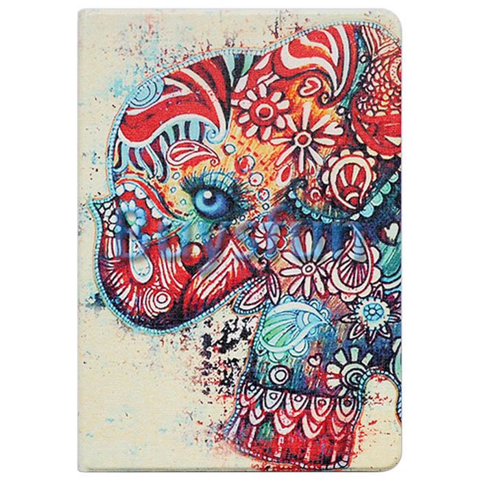 Tribal Floral Elephant Flip Leather Cover Case For Apple iPad 4 4G 3 3G 2