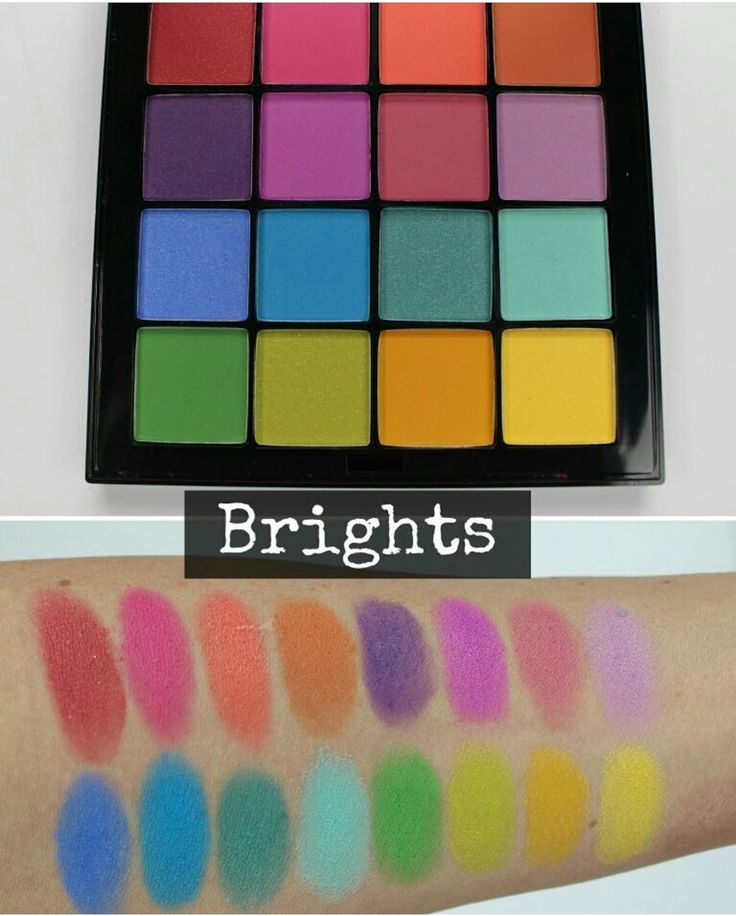 Image result for nyx eyeshadow swatches